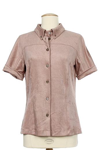 marc cain chemises femme de couleur rose