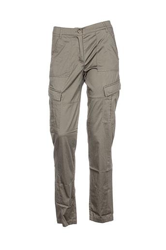 betty barclay pantalons femme de couleur gris