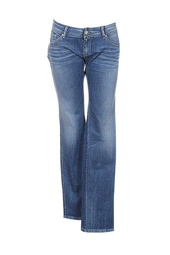 teddy et smith jeans et coupe et slim femme de couleur bleu