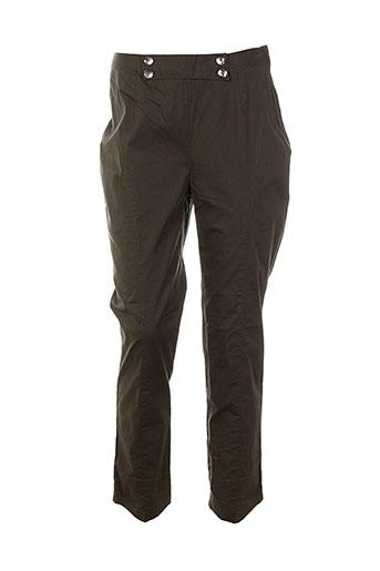 enjoy pantalons et decontractes femme de couleur marron