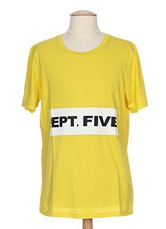 Produit-T-shirts-Homme-DEPARTMENT FIVE