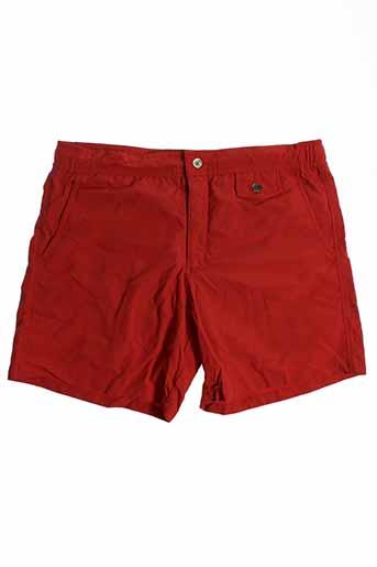 monsieur madone maillots de bain homme de couleur rouge