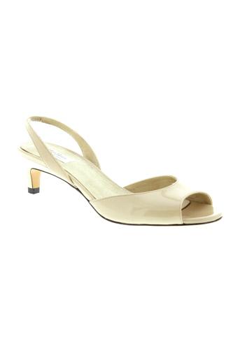 maxmara chaussures femme de couleur beige