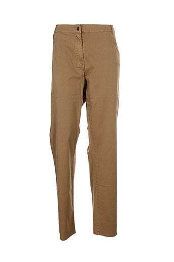 no secret pantalons femme de couleur marron