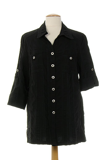 kjbrand chemises femme de couleur noir
