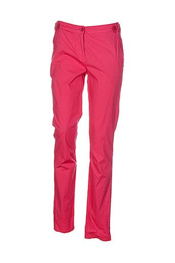 sandwich pantalons femme de couleur rouge