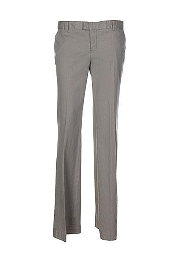 Pantalon chic vert ET VOUS pour femme