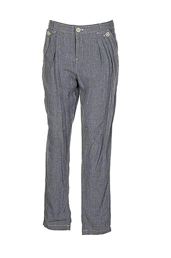 Pantalon casual gris ET VOUS pour femme