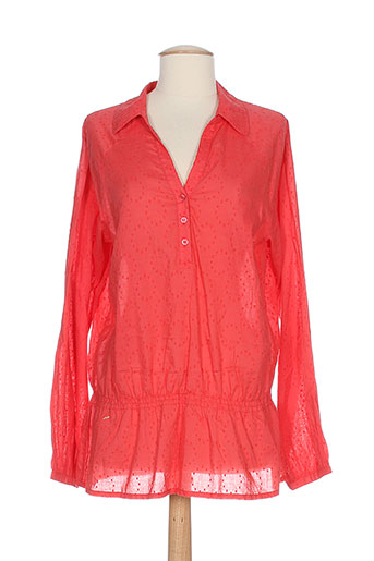 jensen blouses femme de couleur orange