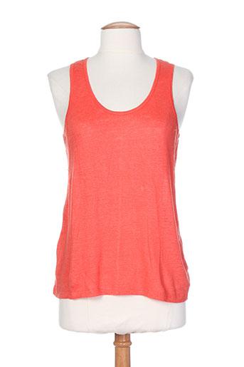 bella jones chemises femme de couleur orange