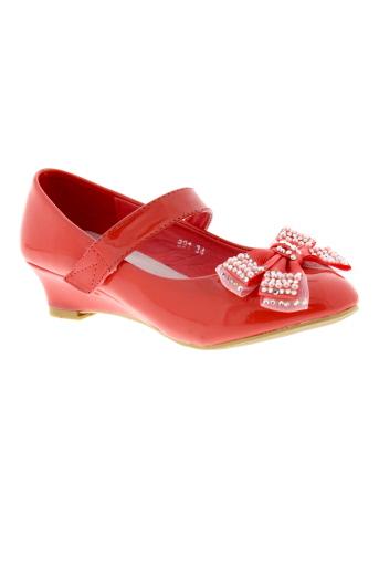 max shoes chaussures fille de couleur orange
