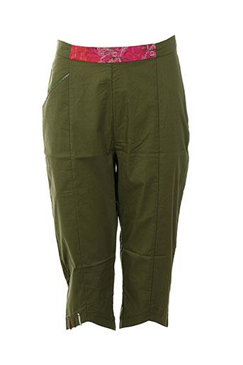enjoy pantacourts femme de couleur vert