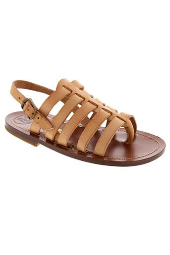 pepe sandales et nu et pieds fille de couleur beige