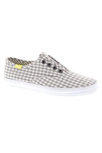 keds chaussures fille de couleur gris