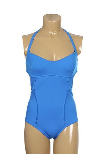 d nu d maillots de bain femme de couleur bleu