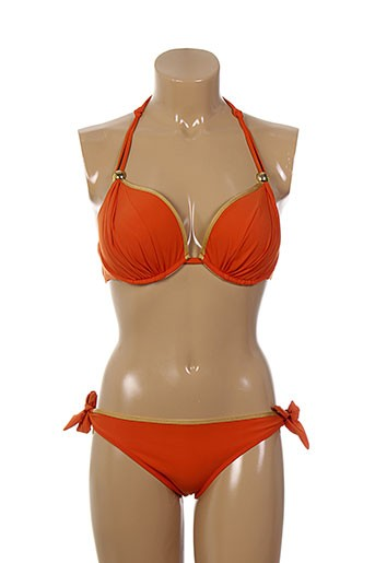 jolidon maillots de bain femme de couleur orange