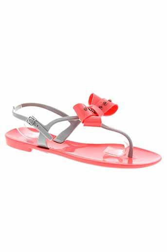 colors et of et california sandales et nu et pieds femme de couleur rose