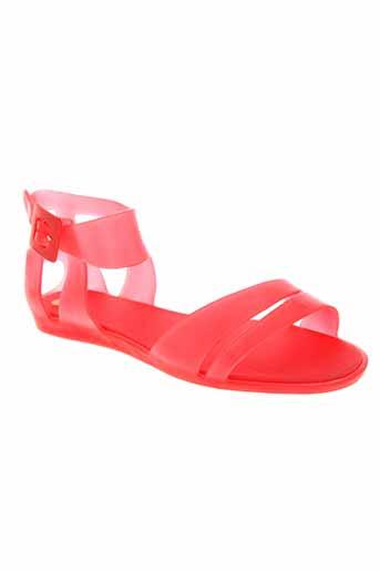 mel chaussures femme de couleur rouge