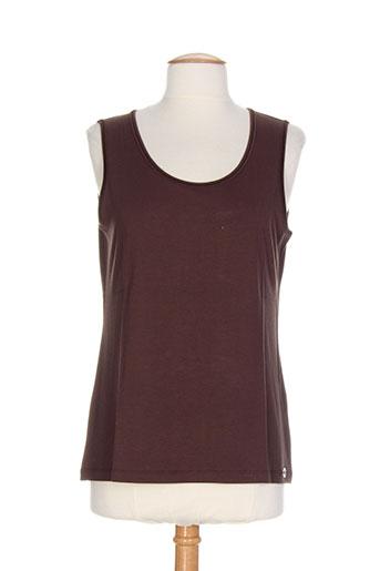 apriori t-shirts / tops femme de couleur marron