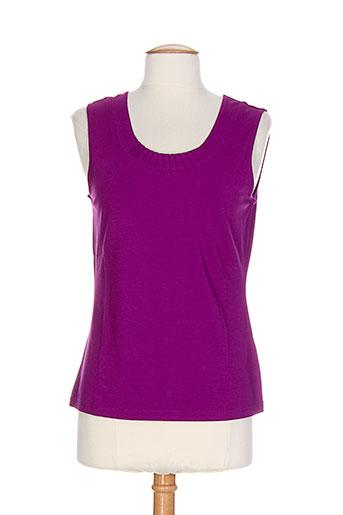apriori t-shirts femme de couleur violet