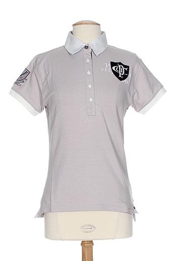 vestiaires principaute cannoise t-shirts / tops femme de couleur beige