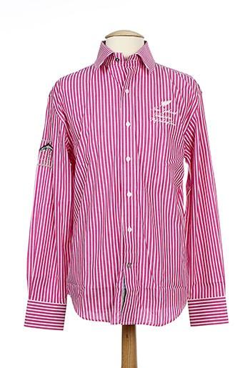 vestiaires principaute cannoise chemises homme de couleur rose