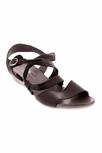 jose et saenz sandales et nu et pieds femme de couleur noir
