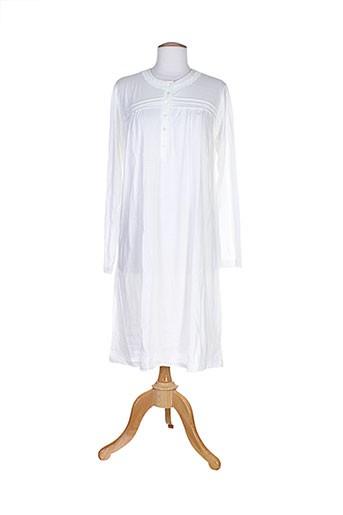 alba et bargiacchi chemises et de et nuit femme de couleur blanc (photo)