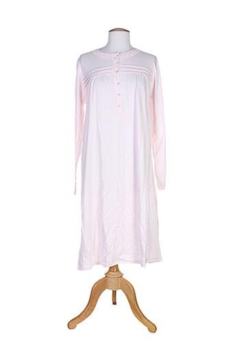 alba et bargiacchi chemises et de et nuit femme de couleur rose (photo)