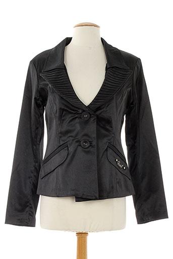 fuel vestes femme de couleur noir