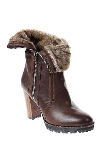 peperosa boots femme de couleur marron