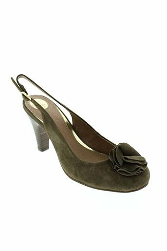 i's london chaussures femme de couleur marron
