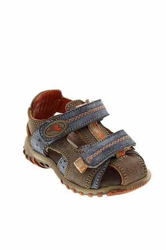 romagnoli sandales et nu et pieds garcon de couleur bleu