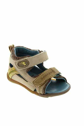 romagnoli sandales et nu et pieds garcon de couleur beige