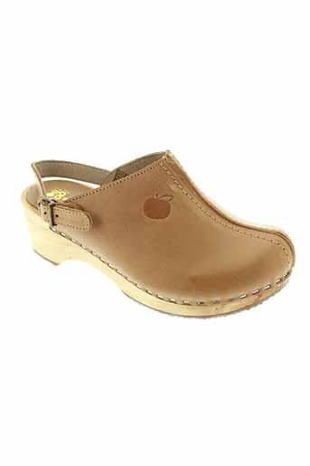 pom d'api chaussures fille de couleur beige