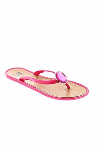 cassis et cote et d et azur tongs femme de couleur rose