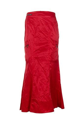 des filles a la vanille jupes femme de couleur rouge