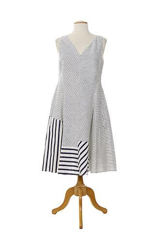 piazza sempione robes femme de couleur blanc