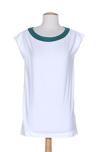 piazza sempione t-shirts femme de couleur blanc
