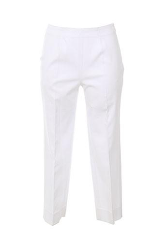 piazza sempione pantacourts femme de couleur blanc