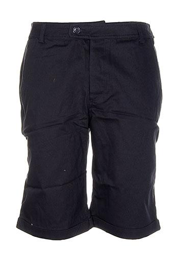 vestiaires principaute cannoise shorts / bermudas homme de couleur noir