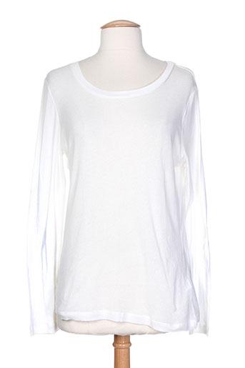 terre EFFI_CHAR_1 mer chemises femme de couleur blanc