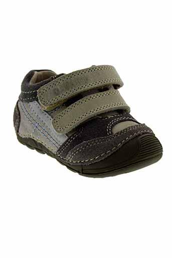 d.d.step chaussures garçon de couleur gris