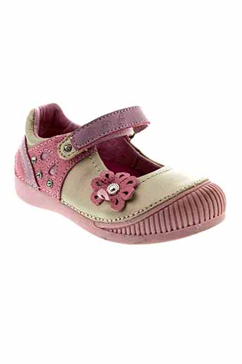 d.d.step chaussures fille de couleur rose