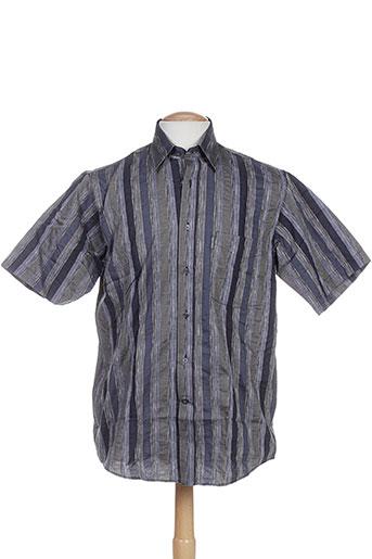 karl smith chemises homme de couleur gris