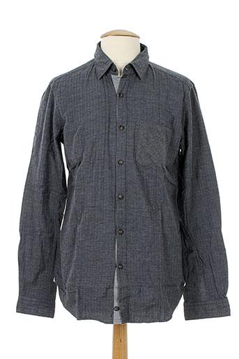 messagerie chemises homme de couleur gris