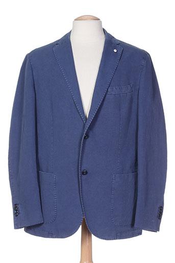 l.b.m.1911 vestes homme de couleur bleu