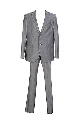 lubiam costumes homme de couleur gris