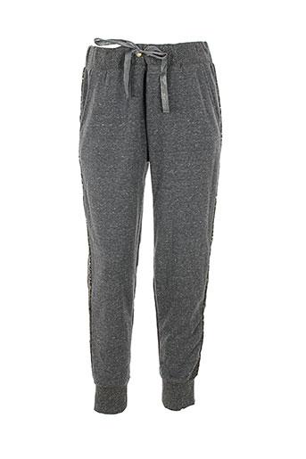 banana moon pantalons femme de couleur gris