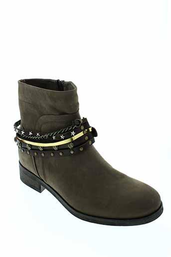tosca et blu et shoes boots femme de couleur marron